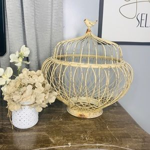 Shabby Chic Large Decorative Bird Cage